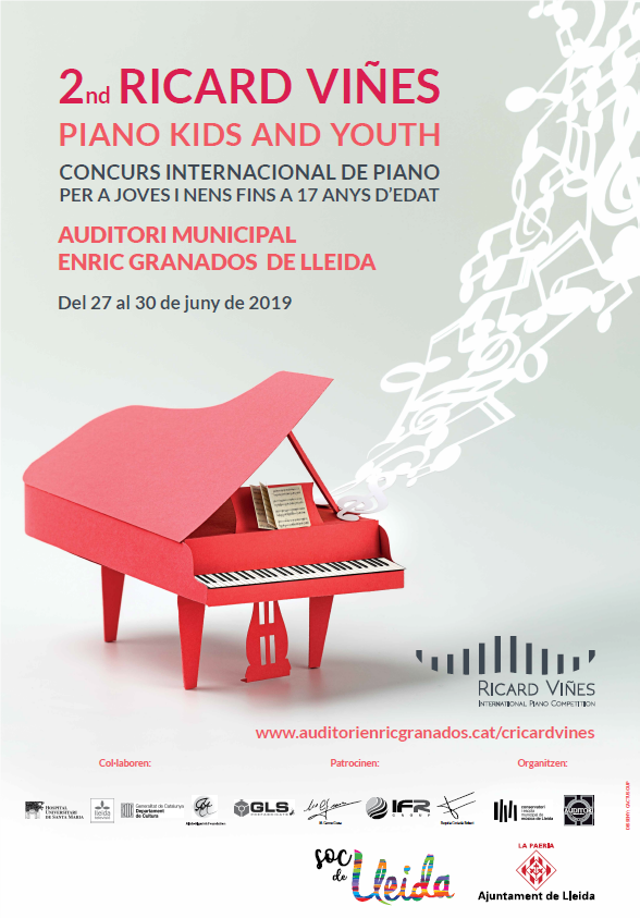 2019 2nd RICARD VIÑES PIANO KIDS AND YOUTH - Ricard Viñes