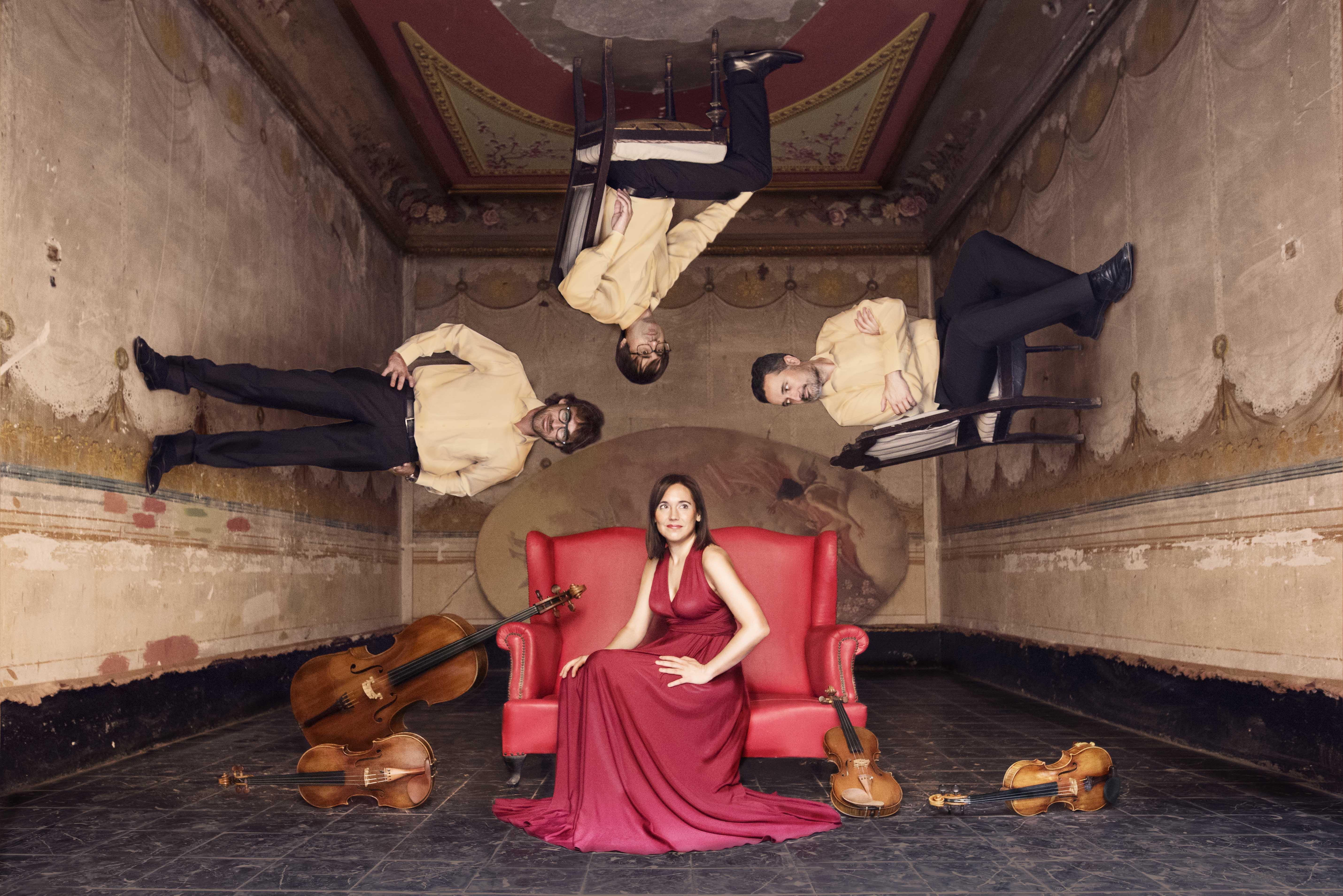 Guzmán i Smetana: la música tradicional com a font d'inspiració. Quartet Teixidor