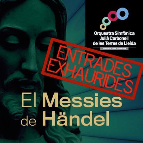EL MESÍAS DE HÄNDEL. ORQUESTRA SIMFÒNICA JULIÀ CARBONELL DE LES TERRES DE LLEIDA
