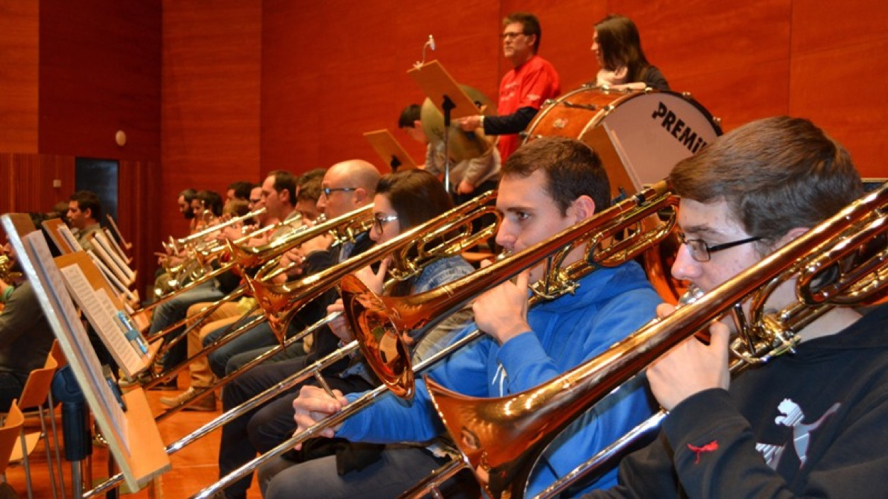 Granados Simfònic amb la Unió. La Banda Simfònica Unió Musical de Lleida ret homenatge a Enric Granados.