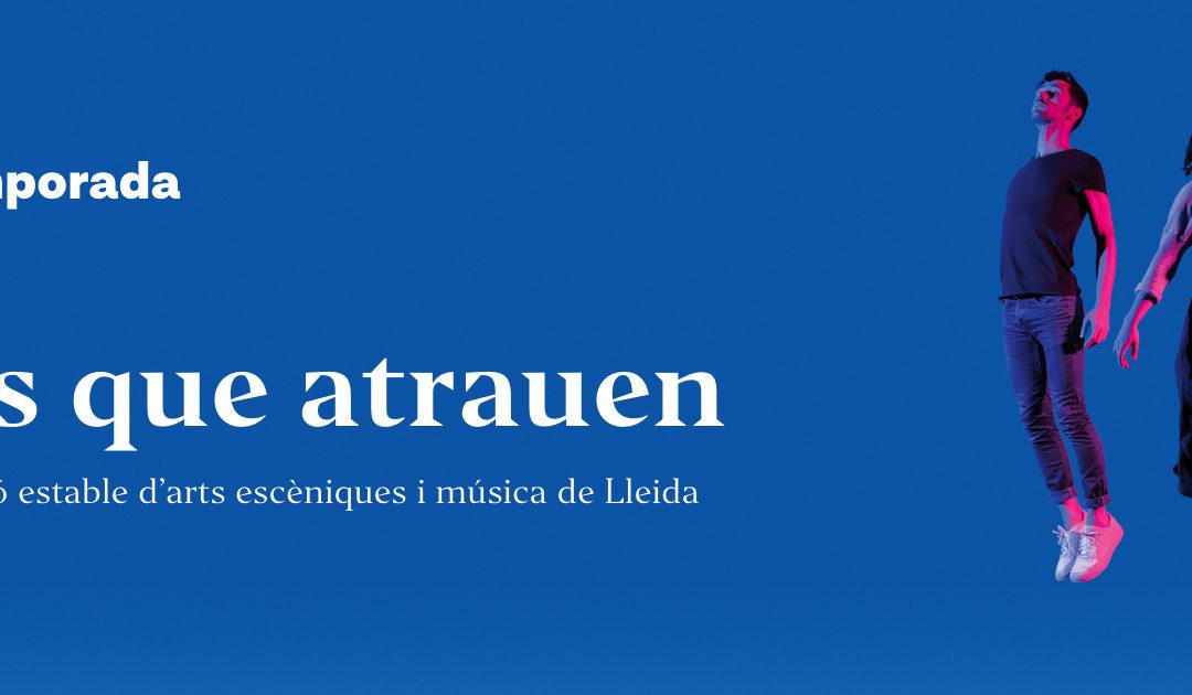 La Temporada Lleida reprograma 5 espectacles per a la tardor