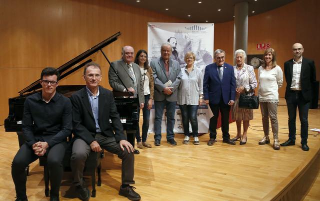 Presentació XXIIIè CONCURS INTERNACIONAL DE PIANO RICARD VIÑES