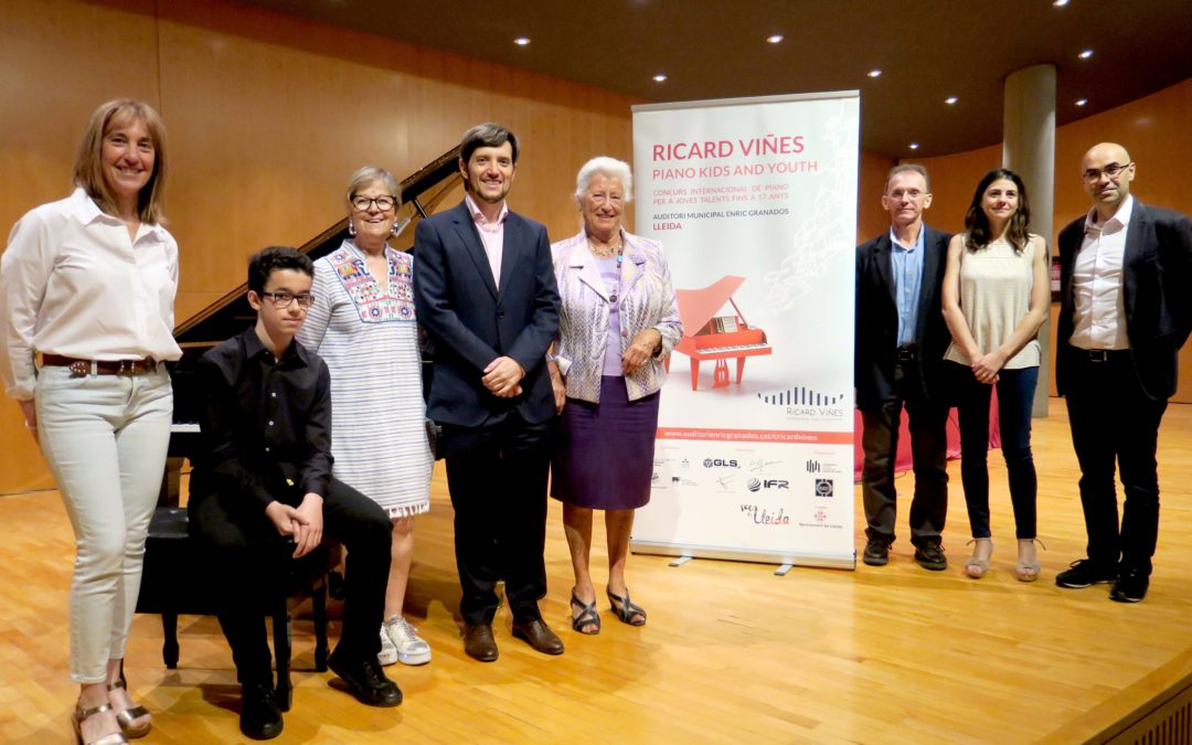 Quaranta joves talents d'arreu participen en el 2n Ricard Viñes Piano Kids and Youth
