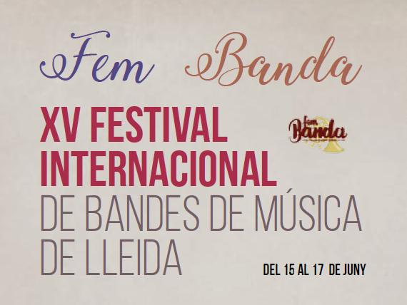 FEM BANDA 2018! CONCURS INTERNACIONAL DE BANDES SIMFÒNIQUES