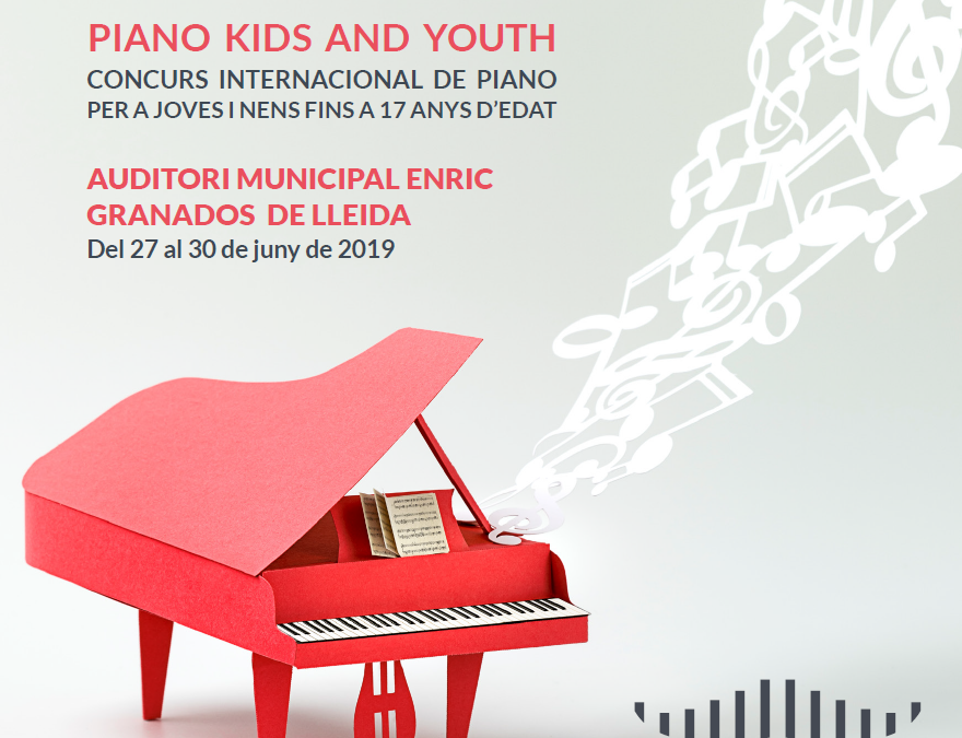2nd RICARD VIÑES PIANO KIDS AND YOUTH – Vine a tocar el piano a la Plaça Ricard Viñes !