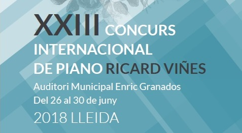 XXIII CONCURS  INTERNACIONAL  DE PIANO RICARD VIÑES.Proves eliminatòries