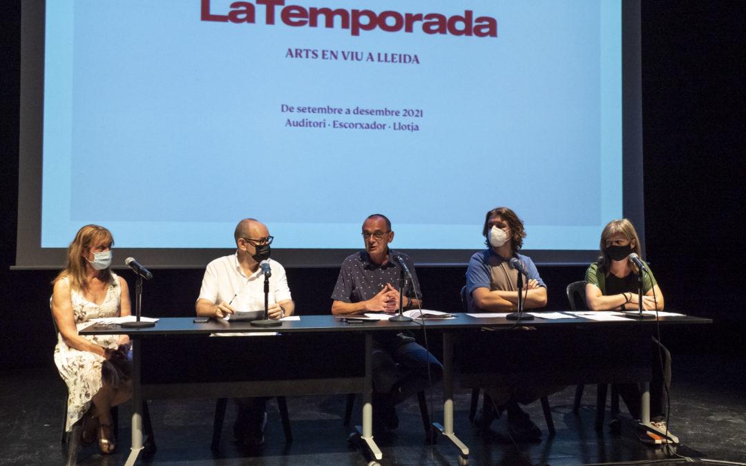 Presentació de la nova programació de tardor de LaTemporada. Arts en viu a Lleida