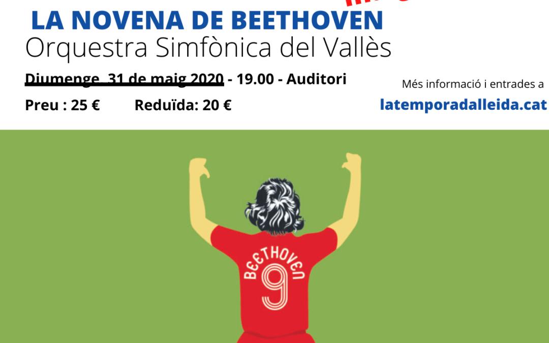 CANVI DE DATA! La Novena de Beethoven. Orquestra Simfònica del Vallès