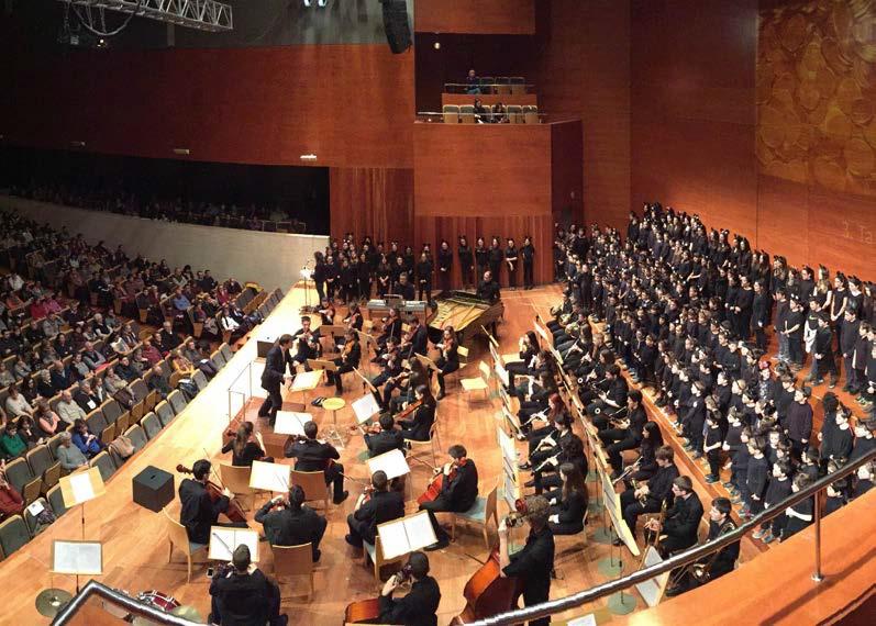 L'Orquestra Simfònica. Orquestra Simfònica del Conservatori Municipal de Música de Lleida