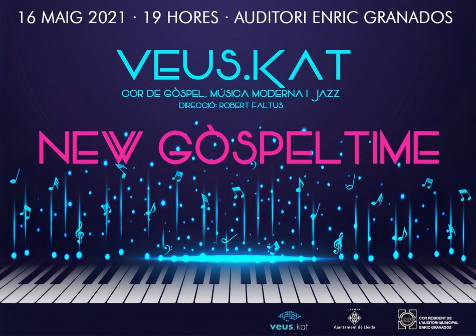 NEW GOSPEL TIME. VEUS.KAT