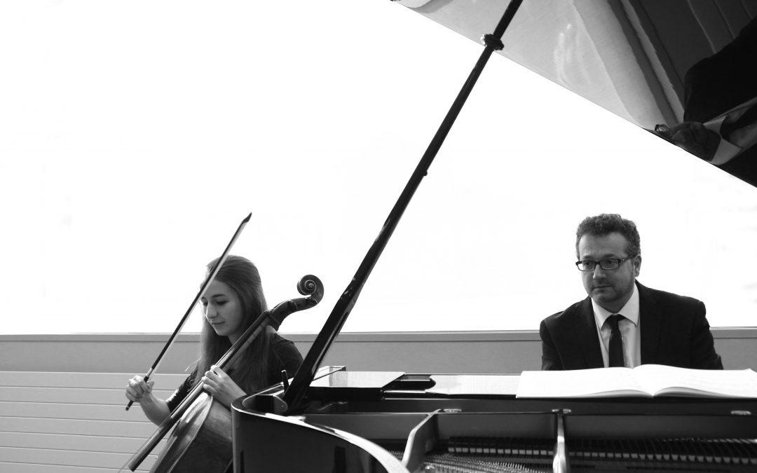 Música francesa per a violoncel i piano. Laia Terré (violoncel) i Ramon Andreu (piano)