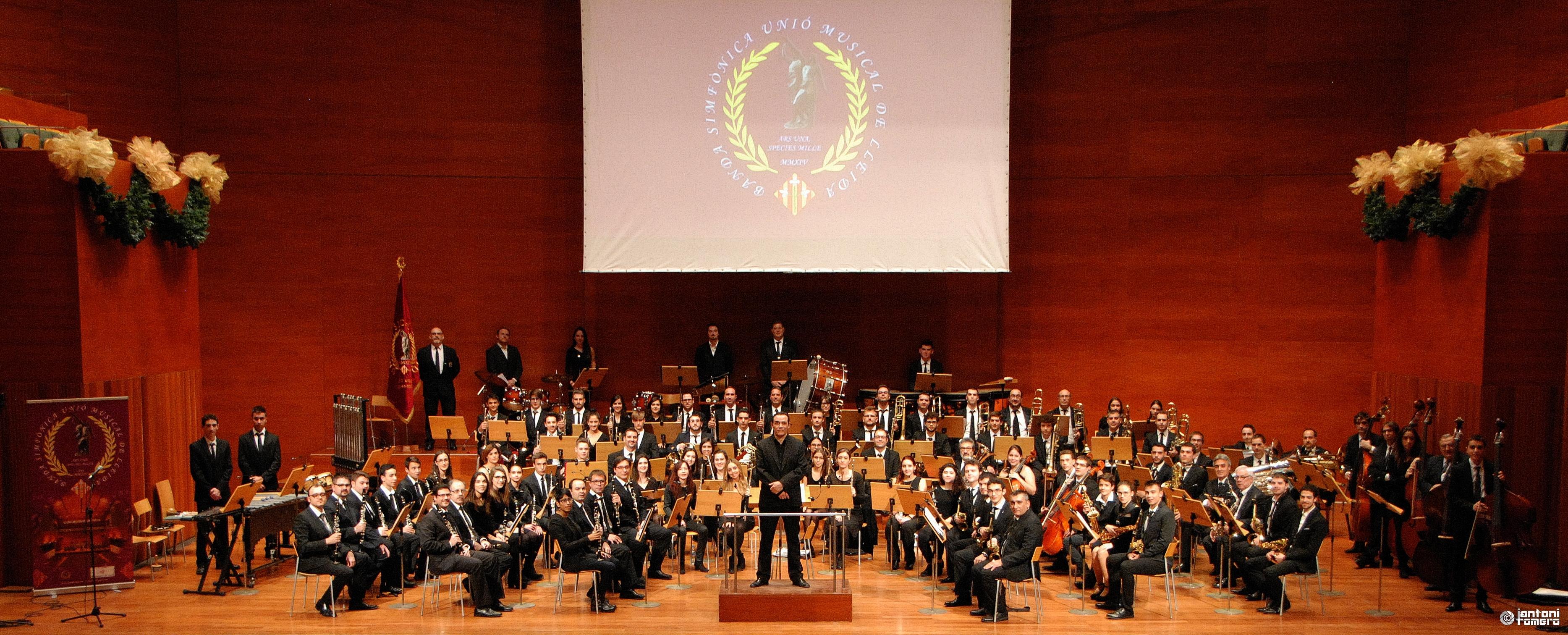 GRANS MUSICALS DE LA HISTÒRIA. Banda Simfònica Unió Musical de Lleida