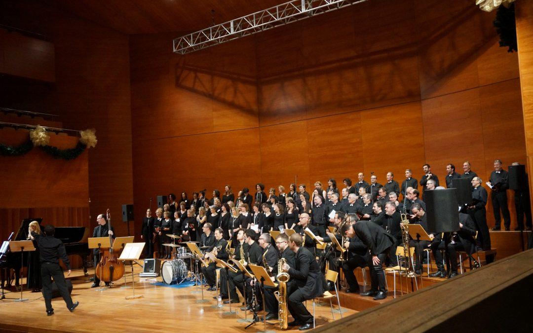 DUKE ELLINGTON'S SACRED CONCERT: Marta Infante, Big Band Lleida, Cor Maristes