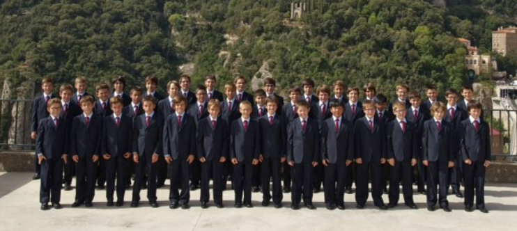MORENETA EN SOU. Escolania de Montserrat